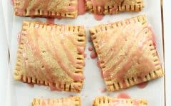picture of strawberry rhubarb pop tarts