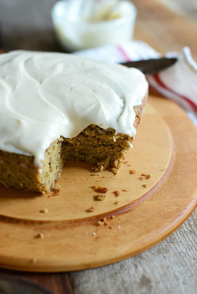 picture of zucchini cake